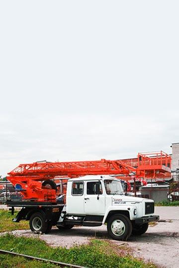 Автовышка АП-18.09 на шасси ГАЗ 3309