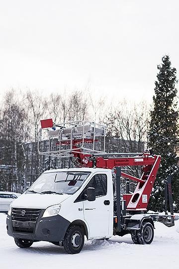 Автовышка ПМС-212-04 на шасси ГАЗель Next (3 места)