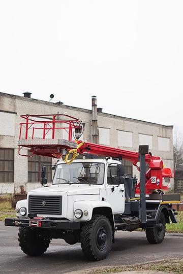 Автовышка ПСС-131.18Э на шасси ГАЗ-33088