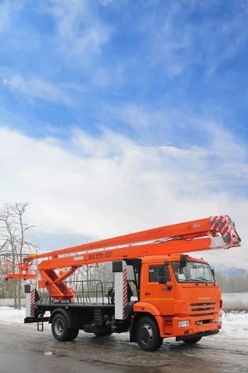 Автовышка ВС-22Т на шасси КАМАЗ-43253