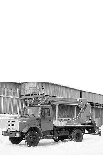 Автовышка ПСС-131.22Э на шасси ЗИЛ 432932