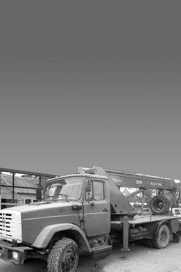 Автовышка ПСС-141.28Э (ПАРТ-28) на шасси ЗИЛ 433112