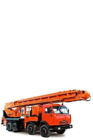 Автовышка ПСС-141.50 (АПТ-50) на шасси Мзкт 6923