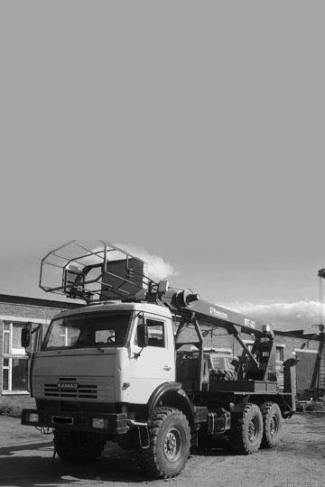 Автовышка ПСС-151.32 (ВТ-32) на шасси КАМАЗ 43114