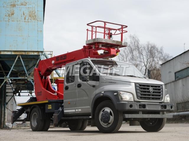 Автовышка ПСС-131.22Э на шасси ГАЗон Next