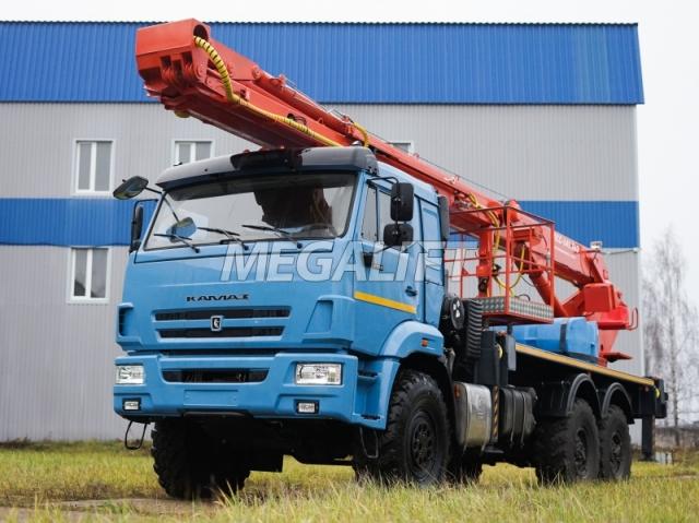Автовышка ПСС-141.36Э (ML-36) на шасси КАМАЗ-43118