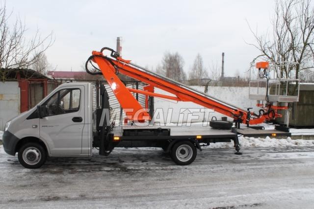 Автовышка ВС-18Т на шасси ГАЗель (ГАЗ-А21R32)