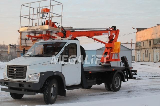 Автовышка ВС-18Т на шасси ГАЗон NEXT